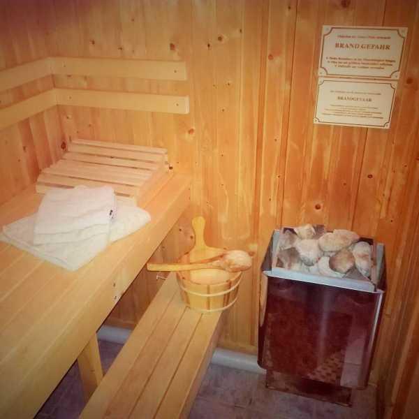 Ferienhaus Nora Sauna