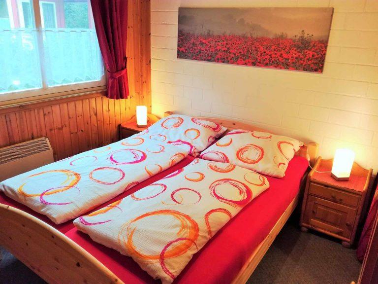 Schlafzimmer EG Ferienhaus Alissa