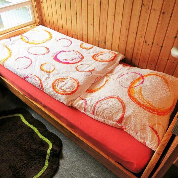 Haus Alissa Schlafzimmer OK klein mit Bett 0,90m x 2,00m