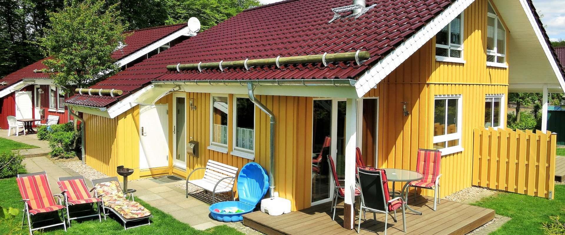 Ferienhaus Alissa mit Sauna und Kamin