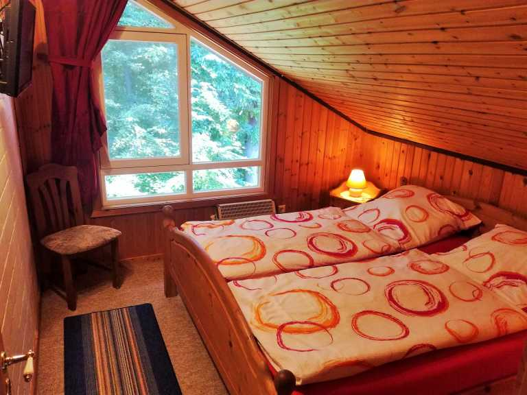 Ferienhaus Mia Schlafzimmer OG