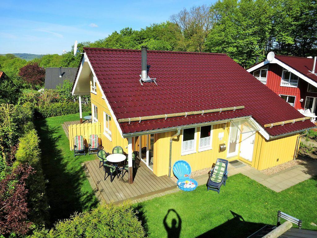 Ferienhaus Lea im Weserbergland / Ferienpark Extertal mit Sauna und Kamin