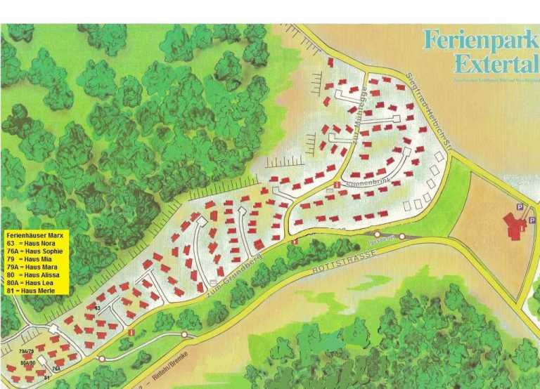 Park Plan Ferienpark Extertal