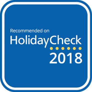 sehr gut bei HolidayCheck 2018