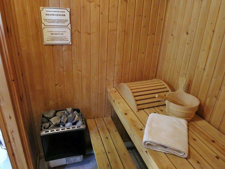Ferienhäuser Marx die Sauna