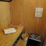 Jedes Ferienhaus der Familie Marx mit Sauna