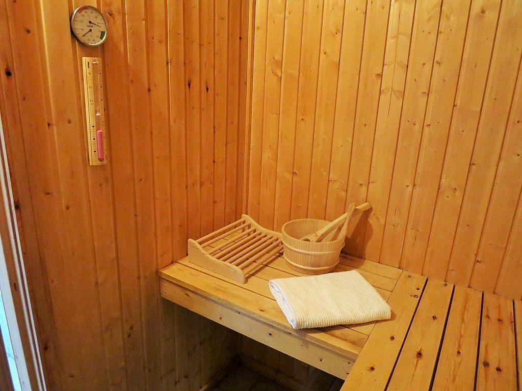 Sauna im Ferienhaus Marx