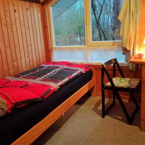 Ferienhaus Nora kleines Schlafzimmer
