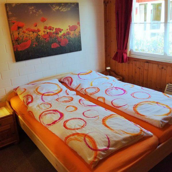 Schlafzimmer EG vom Ferienhaus Lea im Weserbergland