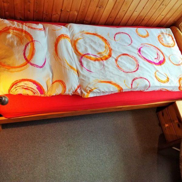 Schlafzimmer im OG vom Ferienhaus Lea