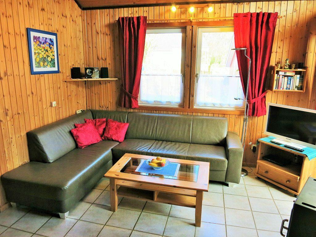 Ferienhaus Lea im Weserbergland Wohnbereich